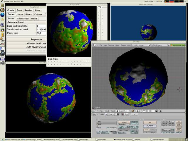Download web tool or web app Fracplanet to run in Linux online