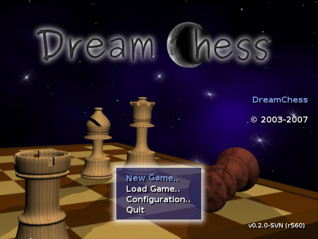 Download web tool or web app DreamChess to run in Linux online