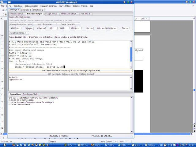 Download web tool or web app QME-Dev Workbench (wxSciPy) to run in Linux online