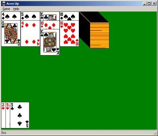 Download web tool or web app Aces Up Solitaire to run in Windows online over Linux online