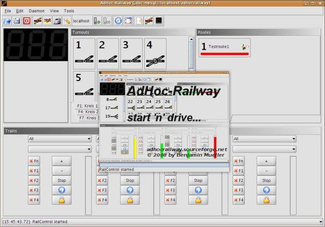 Download web tool or web app AdHoc-Railway to run in Windows online over Linux online
