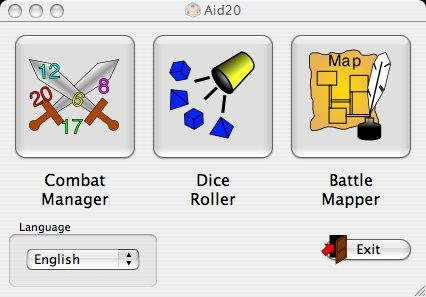 Download web tool or web app Aid20 - Tools for d20 based RPGs to run in Linux online