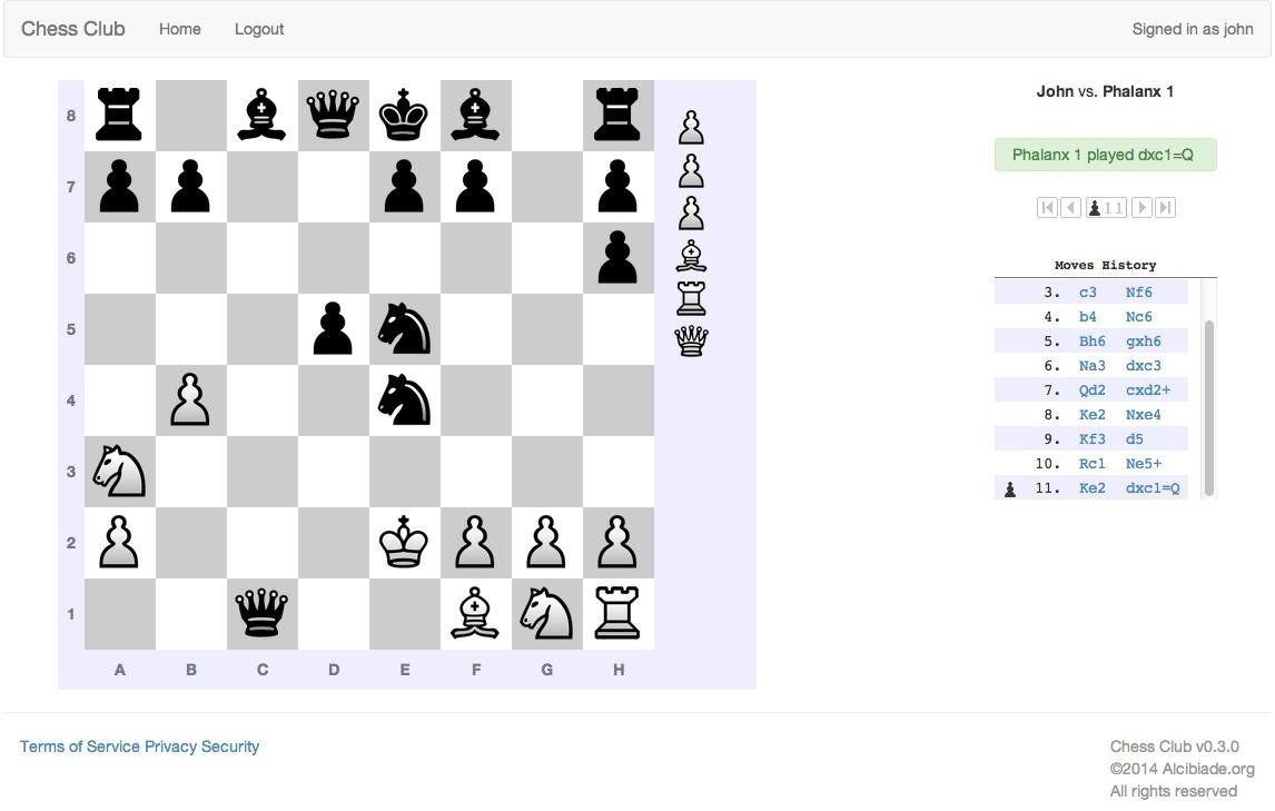 Download web tool or web app Alcibiade Chess to run in Linux online