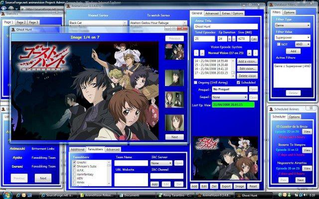 Download web tool or web app AnimeVision to run in Windows online over Linux online
