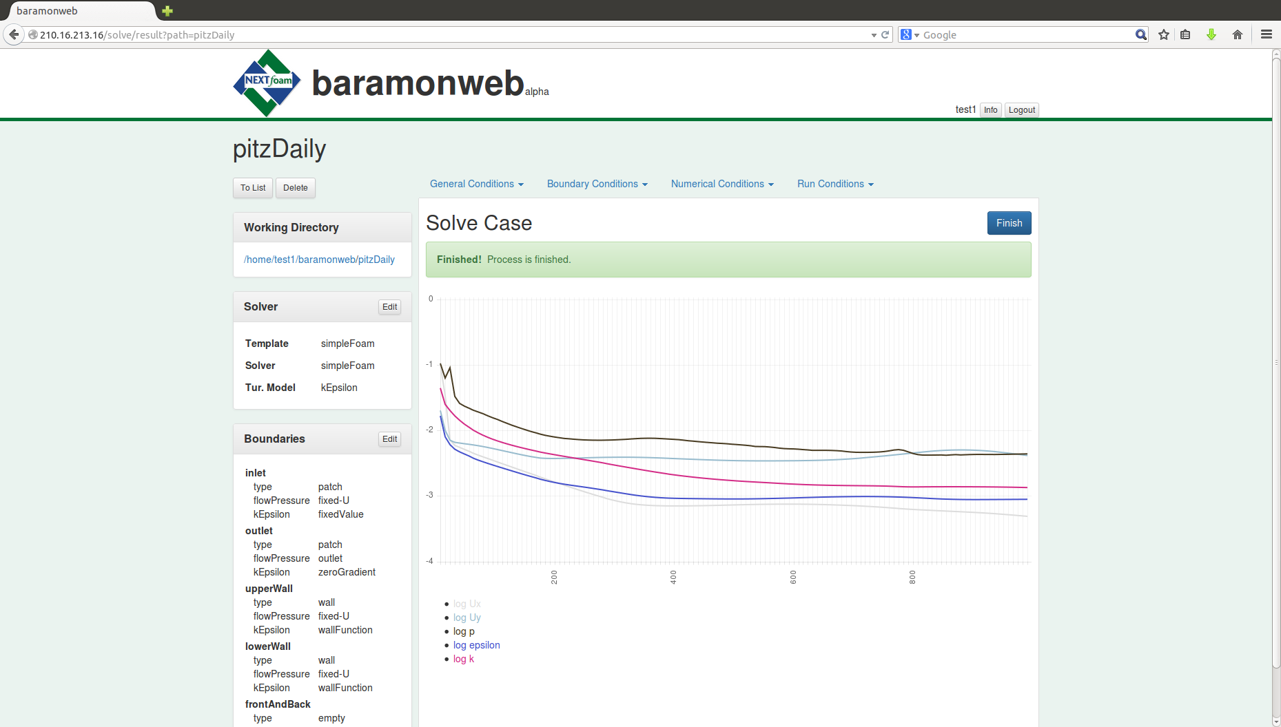 Download web tool or web app baramonweb to run in Windows online over Linux online