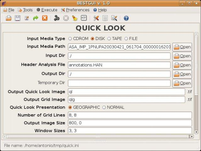 Download web tool or web app bestgui to run in Windows online over Linux online