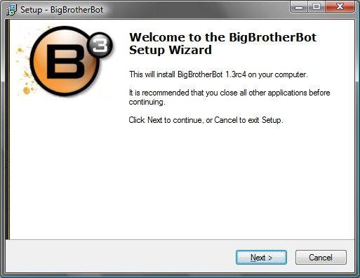 Download web tool or web app Big Brother Bot (B3) to run in Linux online