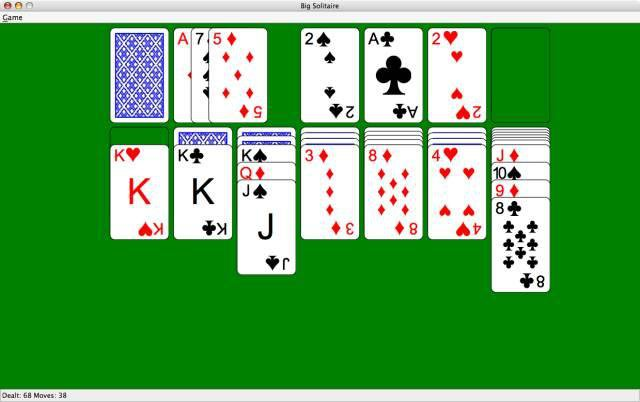 Download web tool or web app Big Solitaire to run in Windows online over Linux online