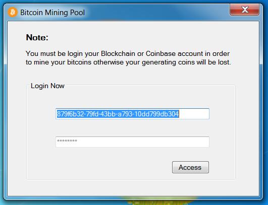 pool bitcoin login)