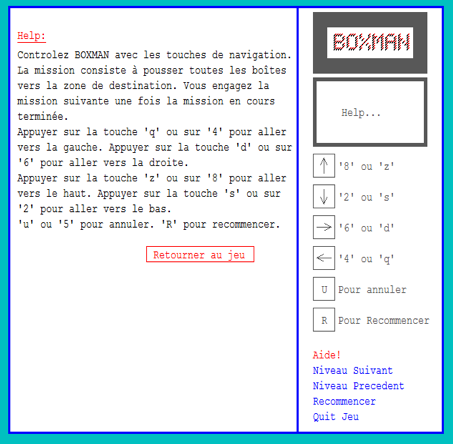 Download web tool or web app Boxman Quiz to run in Linux online