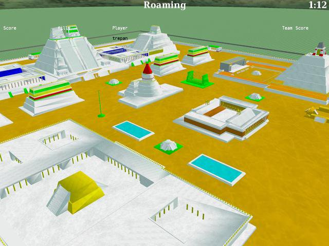 Download web tool or web app BZFlag - Multiplayer 3D Tank Game to run in Linux online