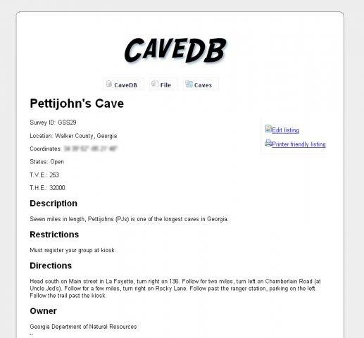 Download web tool or web app cavedb to run in Linux online
