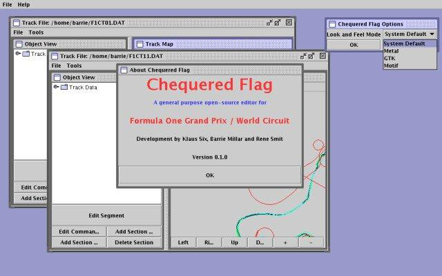 Download web tool or web app Chequered Flag to run in Windows online over Linux online