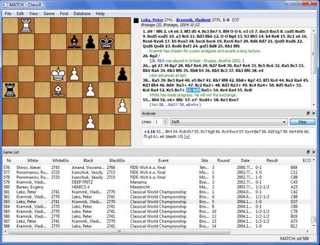 Download web tool or web app ChessX to run in Windows online over Linux online