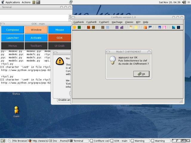 Download web tool or web app confiture to run in Linux online