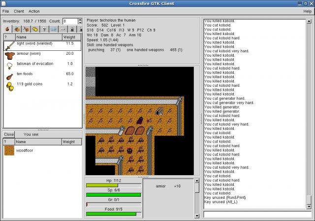 Download web tool or web app Crossfire RPG game to run in Windows online over Linux online