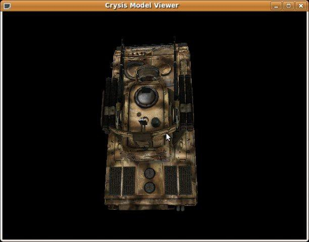 Download web tool or web app Crysis model viewer to run in Windows online over Linux online