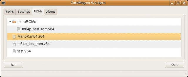 Download web tool or web app CuteMupen to run in Windows online over Linux online