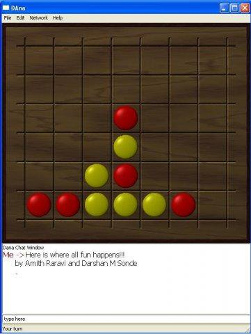 Download web tool or web app DAna - The Connect4 Network game to run in Linux online