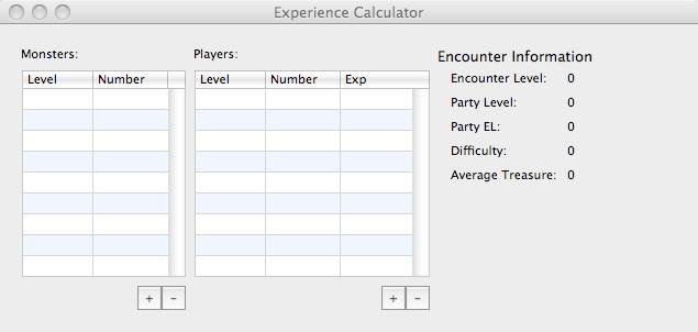Download web tool or web app DnD Experience Calculator to run in Linux online
