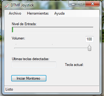 Download web tool or web app DTMF Joystick to run in Linux online