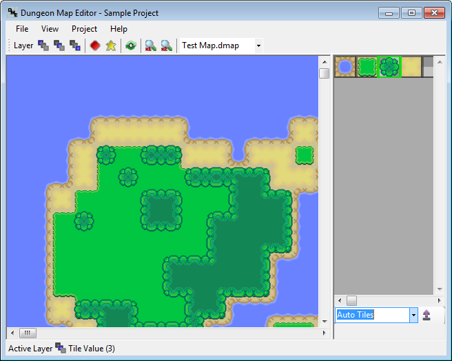 Download web tool or web app Dungeon Map Editor to run in Windows online over Linux online
