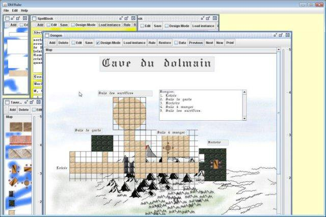 Download web tool or web app Dungeon Master Ruler to run in Windows online over Linux online