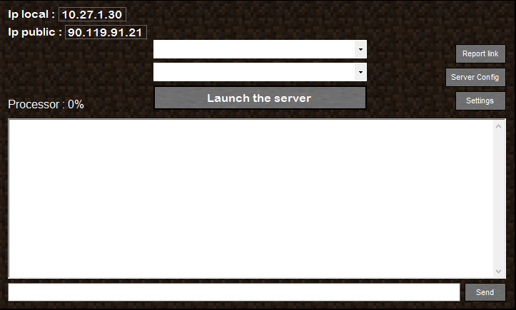 Download web tool or web app EASYMINESERVER to run in Linux online