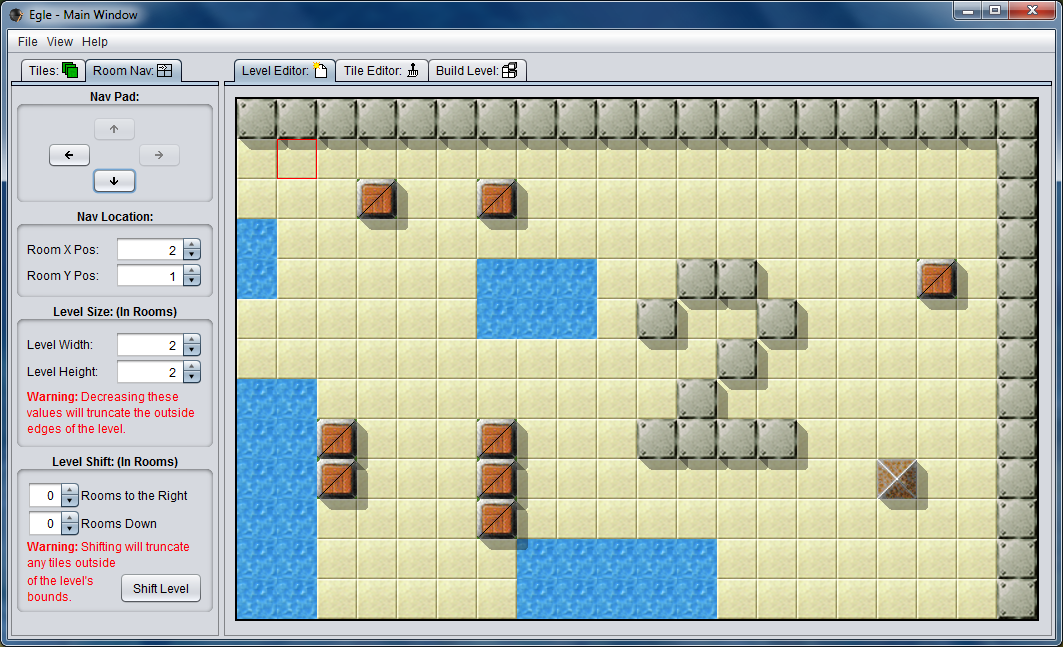 Download web tool or web app Egle - Enigma Game Level Editor to run in Linux online