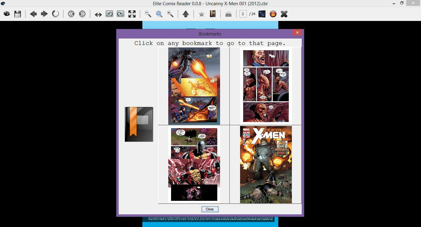 Download web tool or web app Elite Comix Reader to run in Linux online