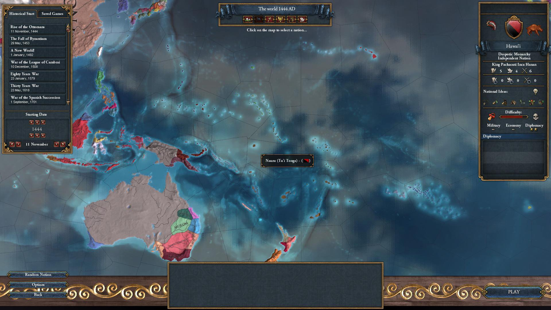 Download web tool or web app Europa Universalis IV: Homo Sapiens Mod to run in Windows online over Linux online