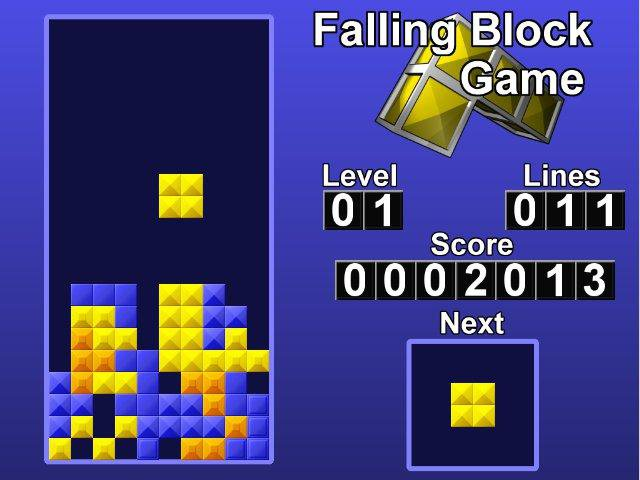 Download web tool or web app Falling Block Game to run in Linux online