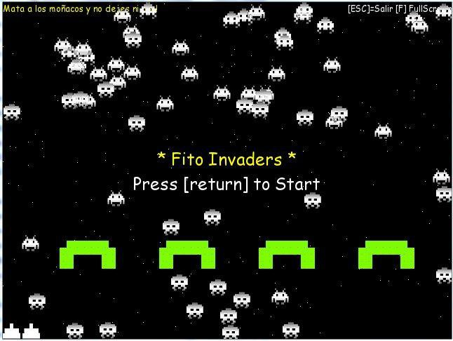 Download web tool or web app Fito Invaders to run in Linux online