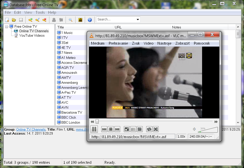Download web tool or web app Free Online TV to run in Windows online over Linux online