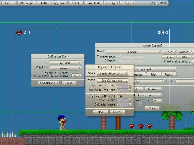 Download web tool or web app Game Editor to run in Linux online