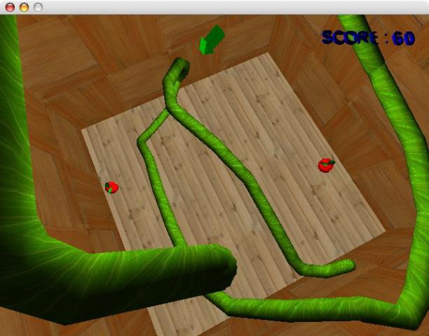 Download web tool or web app GLSnake3d to run in Linux online