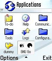 Download web tool or web app GNU Go for S60 to run in Linux online