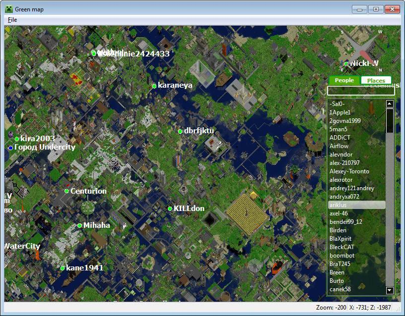 Download web tool or web app Green map to run in Windows online over Linux online