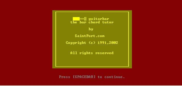 Download web tool or web app guitarbar to run in Windows online over Linux online