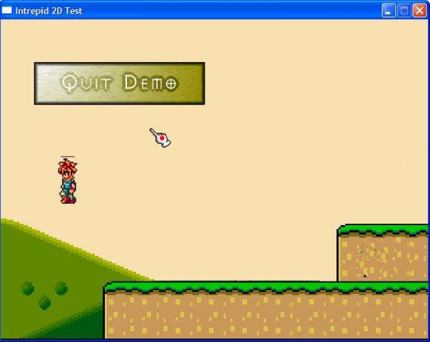 Download web tool or web app Intrepid 2D Game Library to run in Linux online