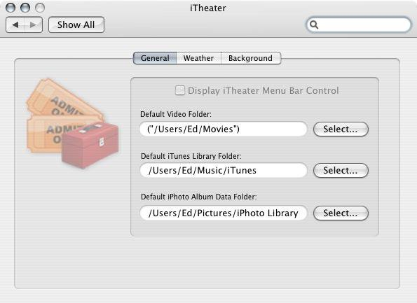 Download web tool or web app iTheater: The Mac Media Center to run in Linux online