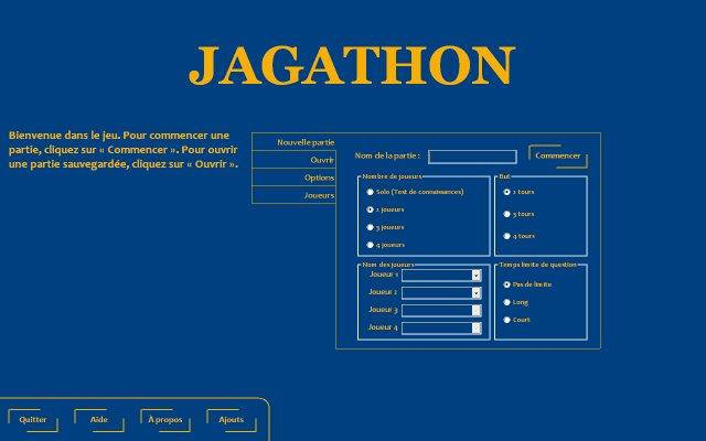 Download web tool or web app Jagathon to run in Linux online