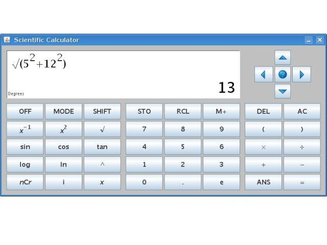 Download web tool or web app java scientific calculator to run in Windows online over Linux online