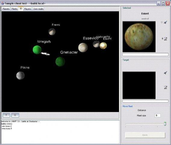 Download web tool or web app jawp - java space game to run in Linux online