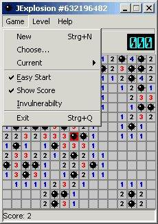 Download web tool or web app JExplosion - A Cool Java Minesweeper to run in Linux online