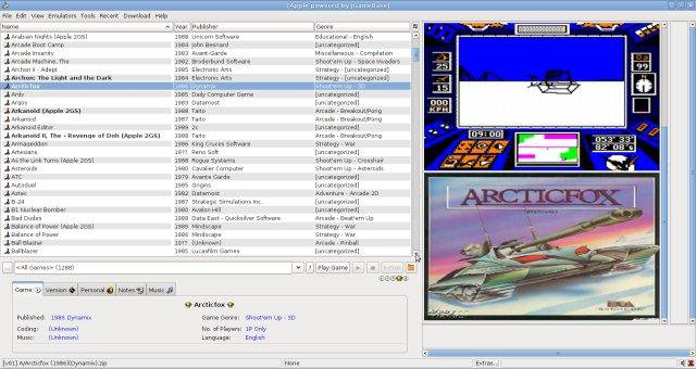 Download web tool or web app jGameBase - Universal Emulator Frontend to run in Linux online