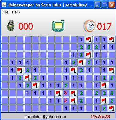 Download web tool or web app JMinesweeper to run in Linux online