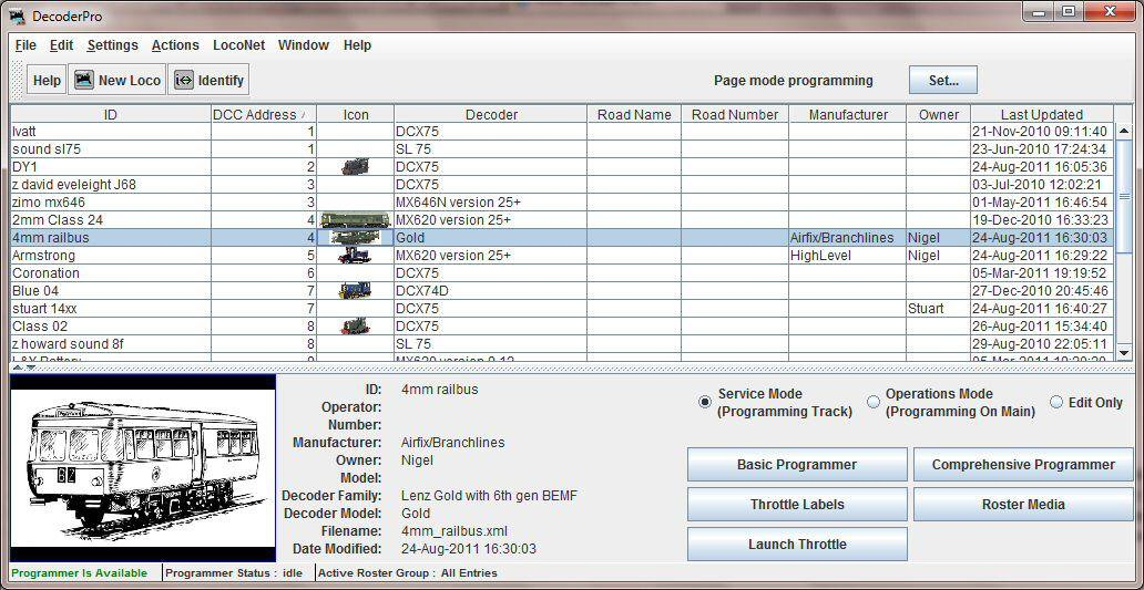 Download web tool or web app JMRI Model Railroad Interface to run in Windows online over Linux online