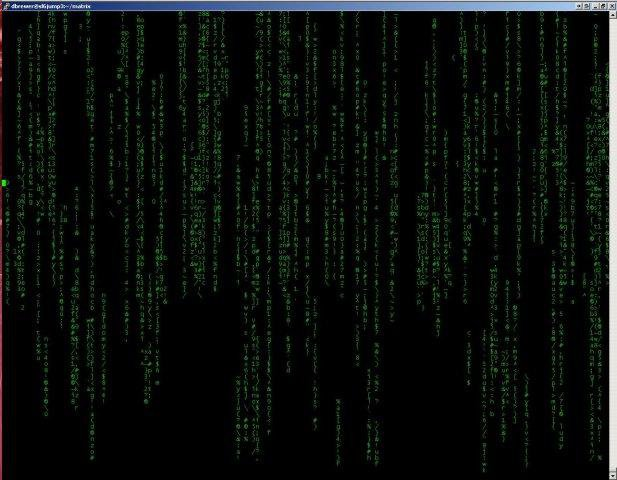 Download web tool or web app Matrix bash shell script to run in Linux online