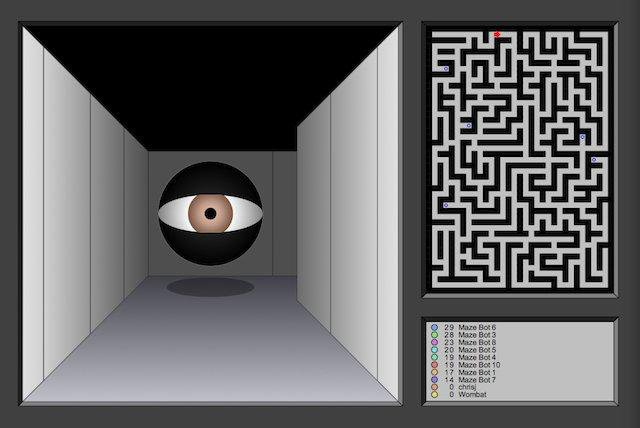 Download web tool or web app Maze War SVG to run in Linux online